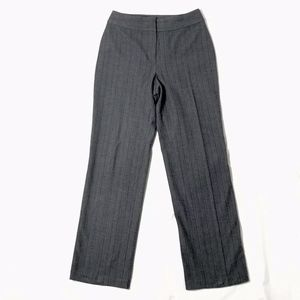 St John Wide Leg Dress Pants Grey Black